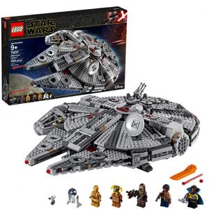 LEGO Star Wars: The Rise of Skywalker Millennium Falcon 75257(1,351 Pieces) @ Amazon