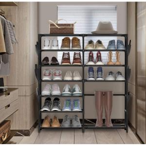JOMARTO 7層收納鞋架,帶側邊收納 @ Amazon