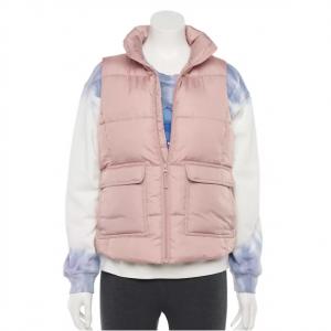 Juniors' SO® Puffer Vest @ Kohl's