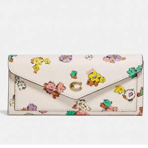 50% Off Coach Wyn Soft Wallet With Floral Print @ Coach