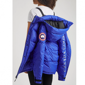 40% Off CANADA GOOSE  Approach Blue Quilted Shell Jacket @ Harvey Nichols US