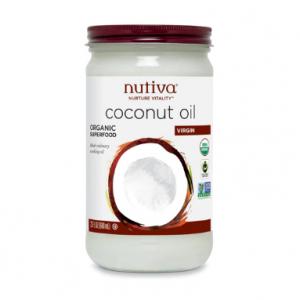 Nutiva 有機椰子油、榛子醬促銷 @ Vitacost