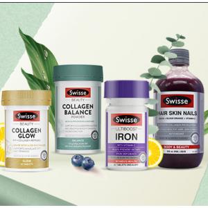 Swisse Beauty 系列营养补剂热卖 收明星同款高光片 @ Pharmacy Online
