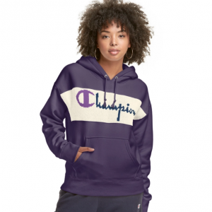 Reverse Weave Hoodie With Sweater Trim @ Champion USA