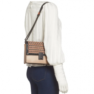 40% Off Coach Hutton Woven Leather Convertible Bag @ Nordstrom