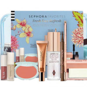 Sephora Canada - Fresh Face Refresh麵部美妝套裝 含CT定妝噴霧,  ABH, Benefit等