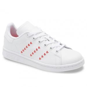 Nordstrom Rack官網 adidas Stan Smith Hearts 大童款情人節愛心板鞋熱賣