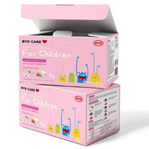BYD CARE 兒童一次性3層口罩,50個 @ Amazon