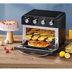5折!cooka 10合1 24誇脫空氣炸鍋烤箱 @ Amazon