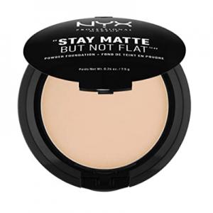 NYX PROFESSIONAL MAKEUP Stay Matte But Not Flat Powder Foundation @ Amazon