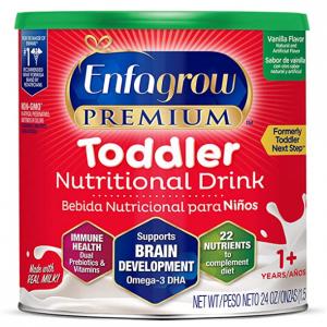 Enfagrow PREMIUM Toddler Nutritional Drink, Vanilla Flavor, 24 oz @ Amazon