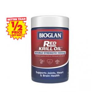 Bioglan Red Krill Oil 1000mg 60 Capsules @ Chemist Warehouse AU