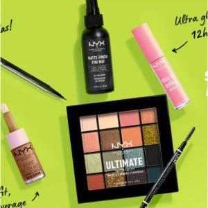 NYX Professional Makeup官网全场美妆热卖 收眼影盘定妆喷雾