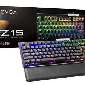 $80 off EVGA Z15 RGB Gaming Keyboard @Amazon