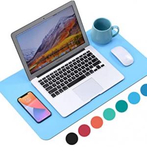 """WAYBER Non-Slip Desk Pad (23.6 x 13.7"""") for $3.99 @Amazon"""
