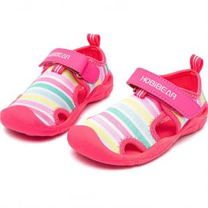 HOBIBEAR Quick Dry Closed-Toe Aquatic Sport Sandals Toddler/Little Kid @ Amazon