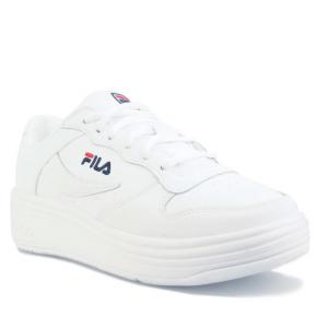 Get The Label官网 Fila WX-100经典款小白鞋3.9折热卖