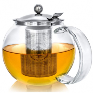 Teabloom 玻璃茶壶 40oz @ Amazon