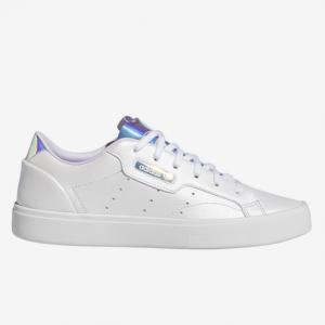 Foot Locker官網 adidas Originals Sleek 鐳射女款小白鞋6.7折熱賣
