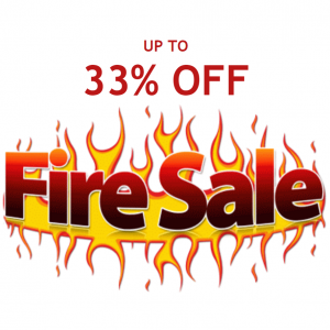 Up to 33% off Fire Sale @ EJ Gift Cards