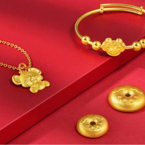 Chow Sang Sang 夏季閃購 精選黃金珠串、吊墜項鏈等特賣