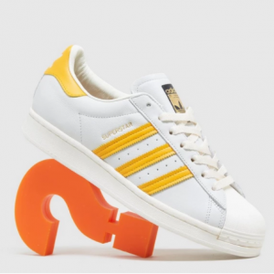 Size.co.uk官網 adidas Originals Superstar 女款貝殼頭板鞋8.3折熱賣