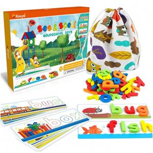 KMUYSL See & Spell Learning Educational Toys,80Pcs @ Amazon