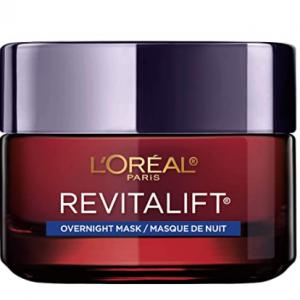 L'Oreal Paris Skincare Revitalift Triple Power Intensive Overnight Face Mask 1.7oz @ Amazon