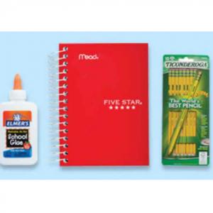 Walgreens Select Back to School Supplies