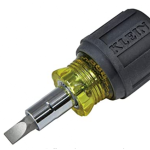 50% off Klein Tools 6-in-1 Multi-Bit Screwdriver / Nut Driver, Stubby 32561 @Amazon