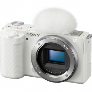 New in - Sony ZV-E10 Mirrorless Camera (Body Only, White) for $698 @B&H