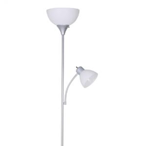 Mainstays 72'' Combo Floor Lamp with Adjustable Reading Lamp for $11.44 @Walmart