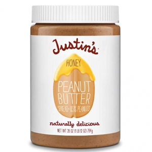 Justin's Nut Butter Honey Peanut Butter, 28 Ounce (Pack of 1) $6.03