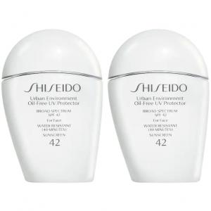Shiseido Urban Environment Oil-Free UV Protector Broad Spectrum Face Sunscreen SPF 42 Duo @Sephora
