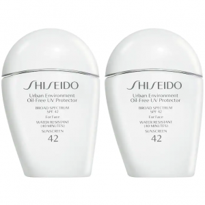 Sephora Shiseido资生堂白胖子防晒SPF 42双瓶套装热卖 相当于5.7折