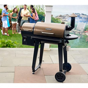 """Cuisinart CPG-4000 Wood BBQ Grill & Pellet Grill and Smoker, 45"""" x 49"""" x 39.4"""", Black @ Woot"""
