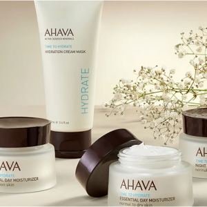AHAVA官網全場護膚身體護理熱賣 收死海泥清潔麵膜 補水膏 護手霜 身體乳等