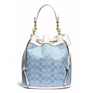 30% Off COACH Field Bucket Bag in Signature Chambray @ Belk