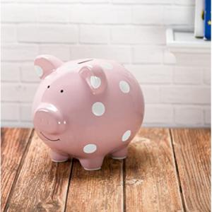 Pearhead 小猪存钱罐,粉色 @ Amazon
