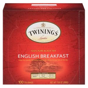 Twinings of London 英式紅茶茶包 一盒100包