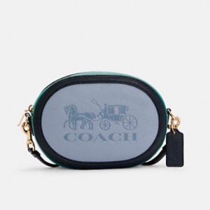 70% Off Coach Camera Bag In Colorblock With Horse And Carriage @ Coach Outlet