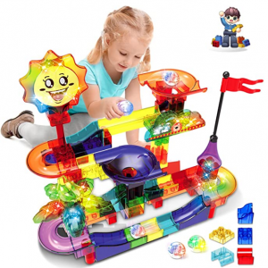 HOMOFY Upgraded Marble Run Sets for Kids-110+Pcs @ Amazon