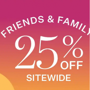Friends & Family Sitewide Sale @ StriVectin