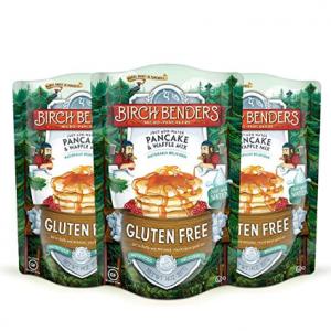 Birch Benders Gluten-Free Pancake and Waffle Mix, 14 oz 3 packs @ Amazon