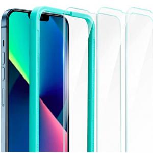 Amazon - ESR iPhone 13/Pro 鋼化玻璃屏幕保護膜,現價$8.69