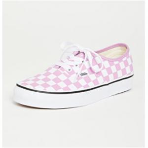 Shopbop.com官網精選Vans Authentic 棋盤格帆布鞋特賣