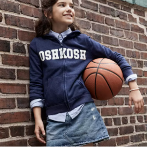 Up to 50% off  Logo Hoodies, Tops & Pants @ OshKosh B'gosh