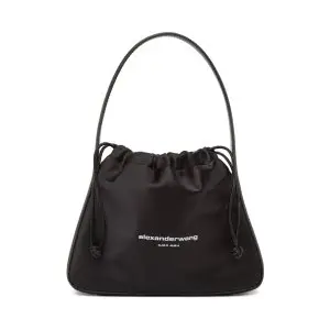 ALEXANDER WANG Black Small Ryan Bag Sale @ SSENSE