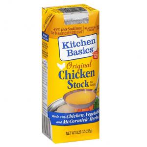 Kitchen Basics 原味鸡汤 8.25oz @ Amazon