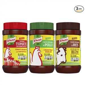 Knorr Beef/Chicken/Tomato With Chicken Bouillon For Sauces, 2.0 lb 3 Pack @ Amazon